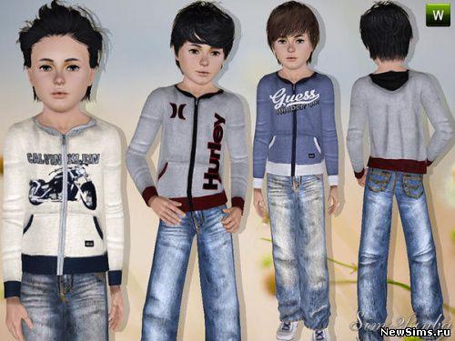 одежда для детей skyrim